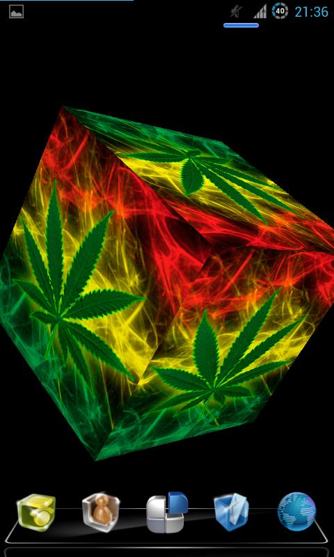 3D Live Weed Wallpaper on WallpaperSafari
