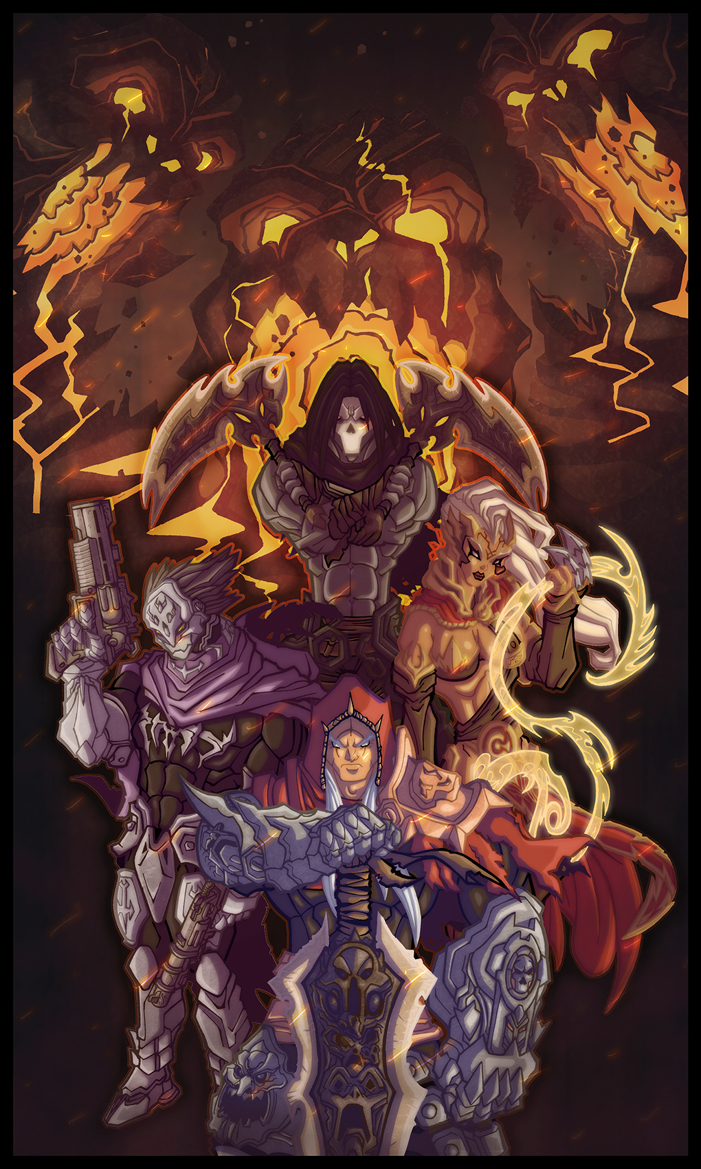 Darksiders 3 Strif HD Wallpaper Background Images 1020x1700