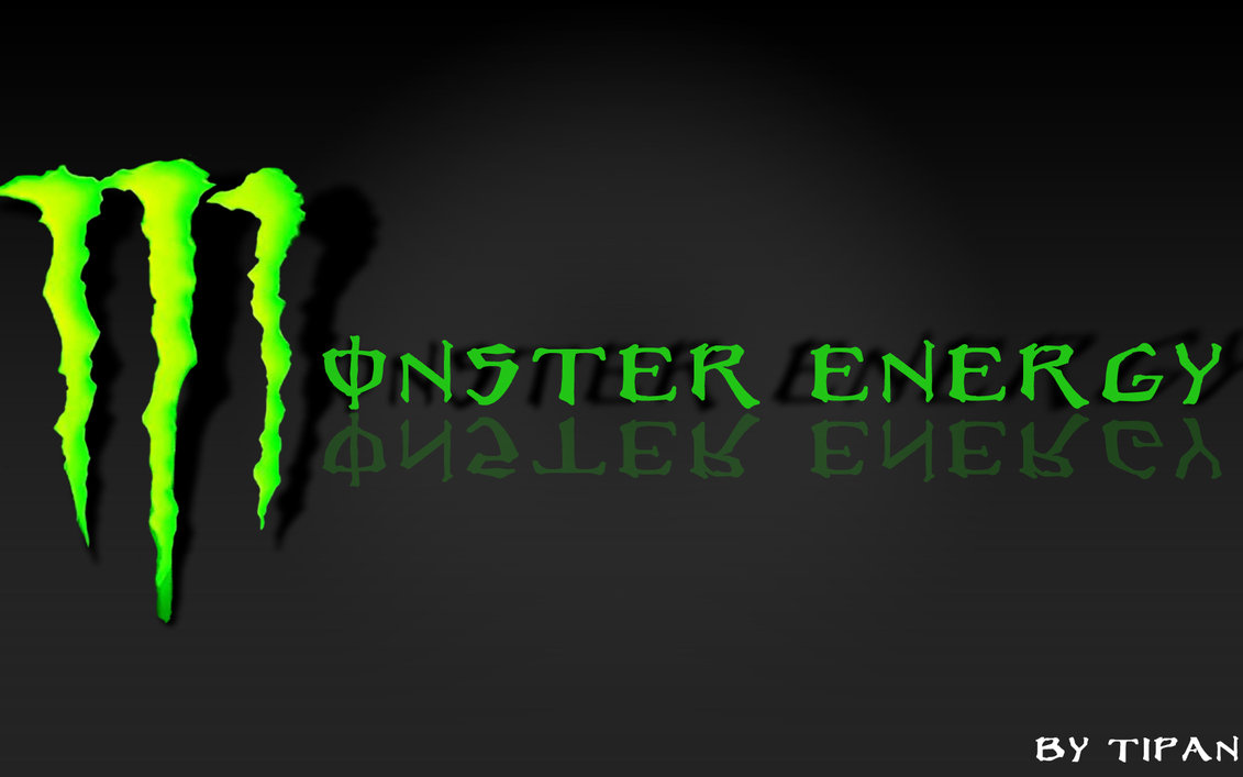 Monster Energy Logo Background - WallpaperSafari