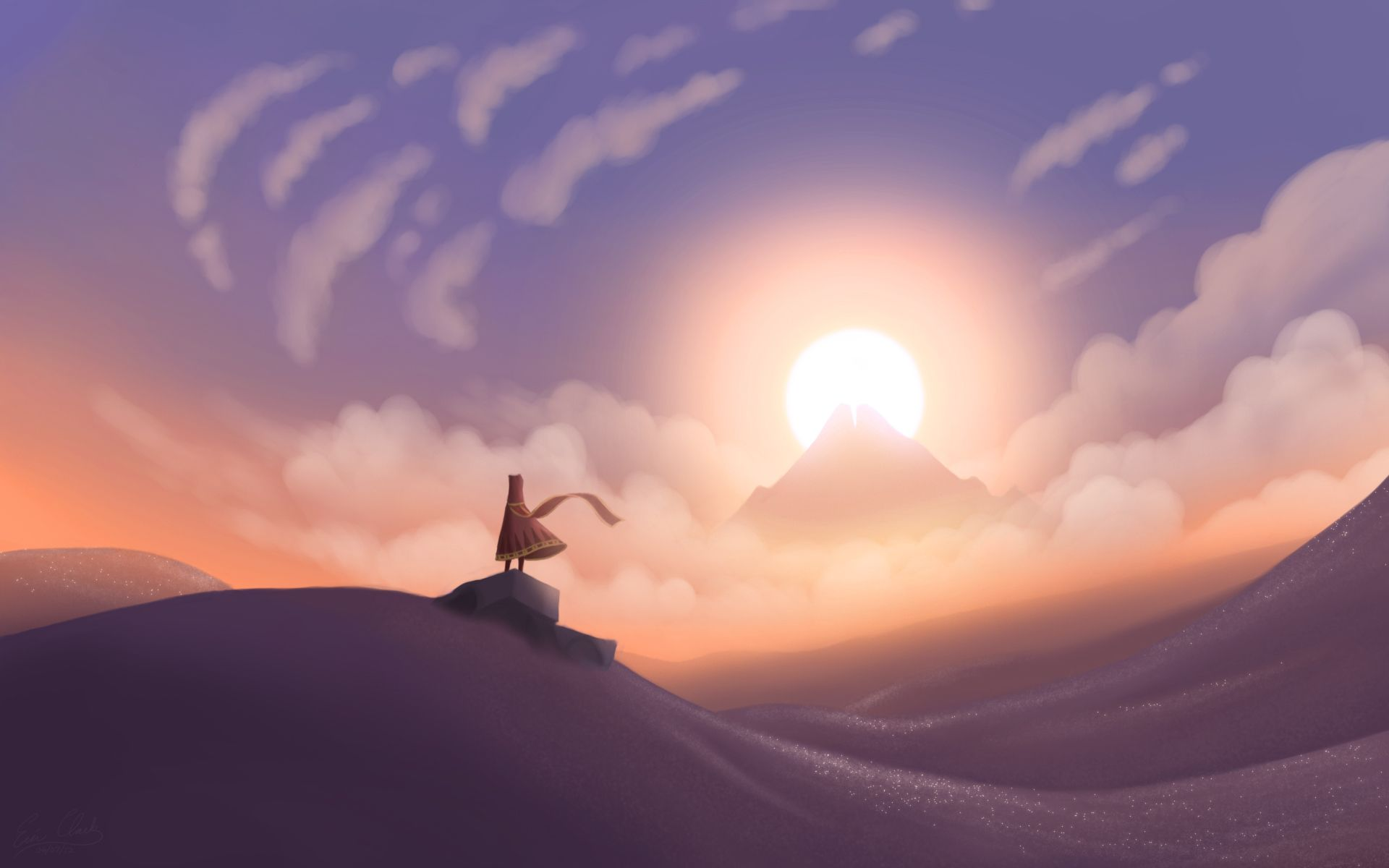 Journey Sunset by sawuinhaffdeviantartcom on deviantART 1920x1200
