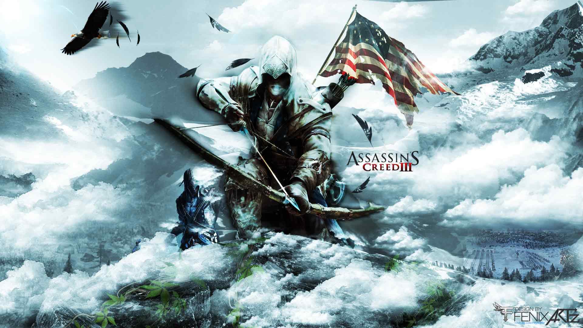 The Assassins Assassins Creed 3 1920x1080