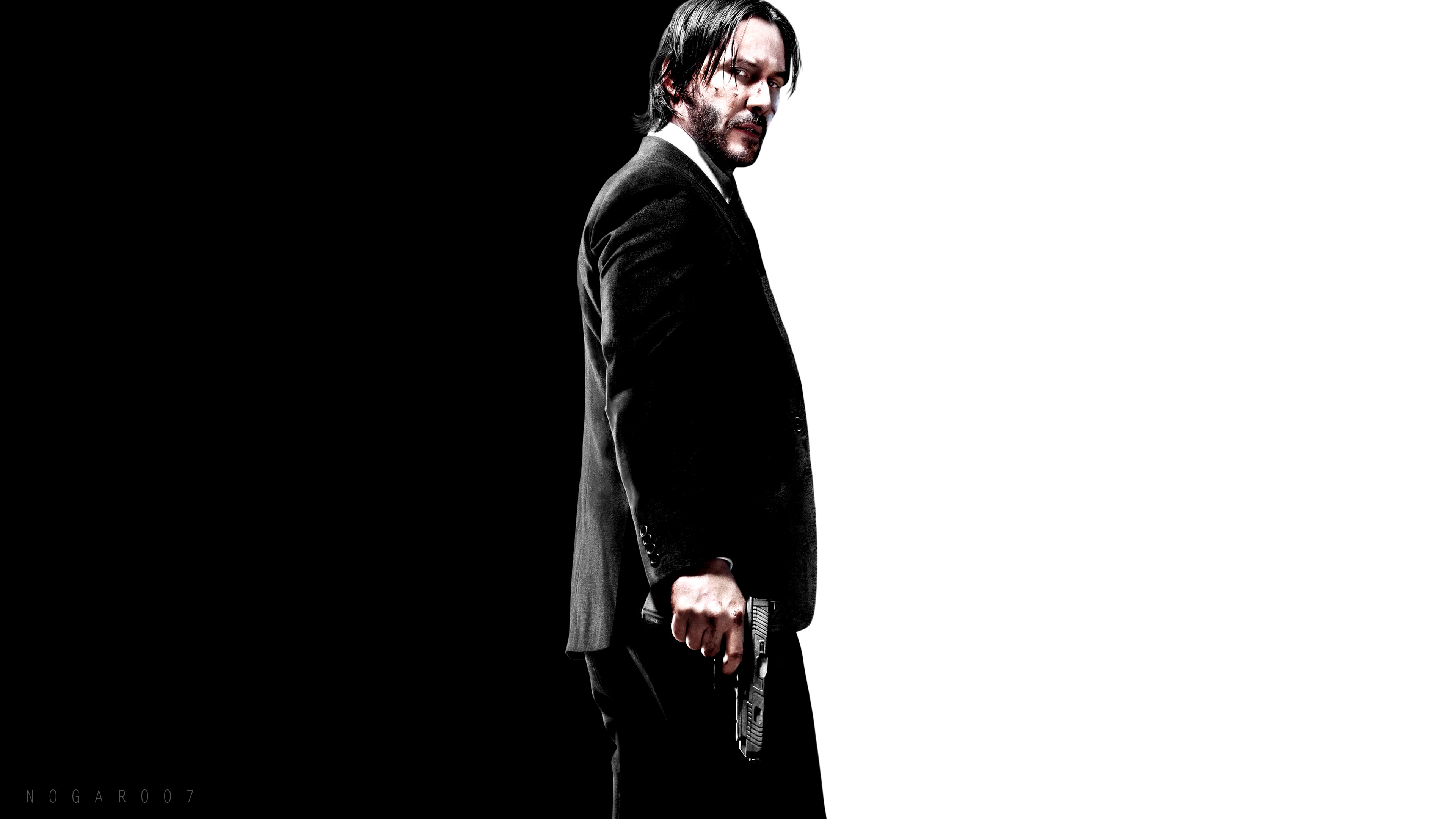 John Wick [3840x2160] Amoledbackgrounds 3840x2160