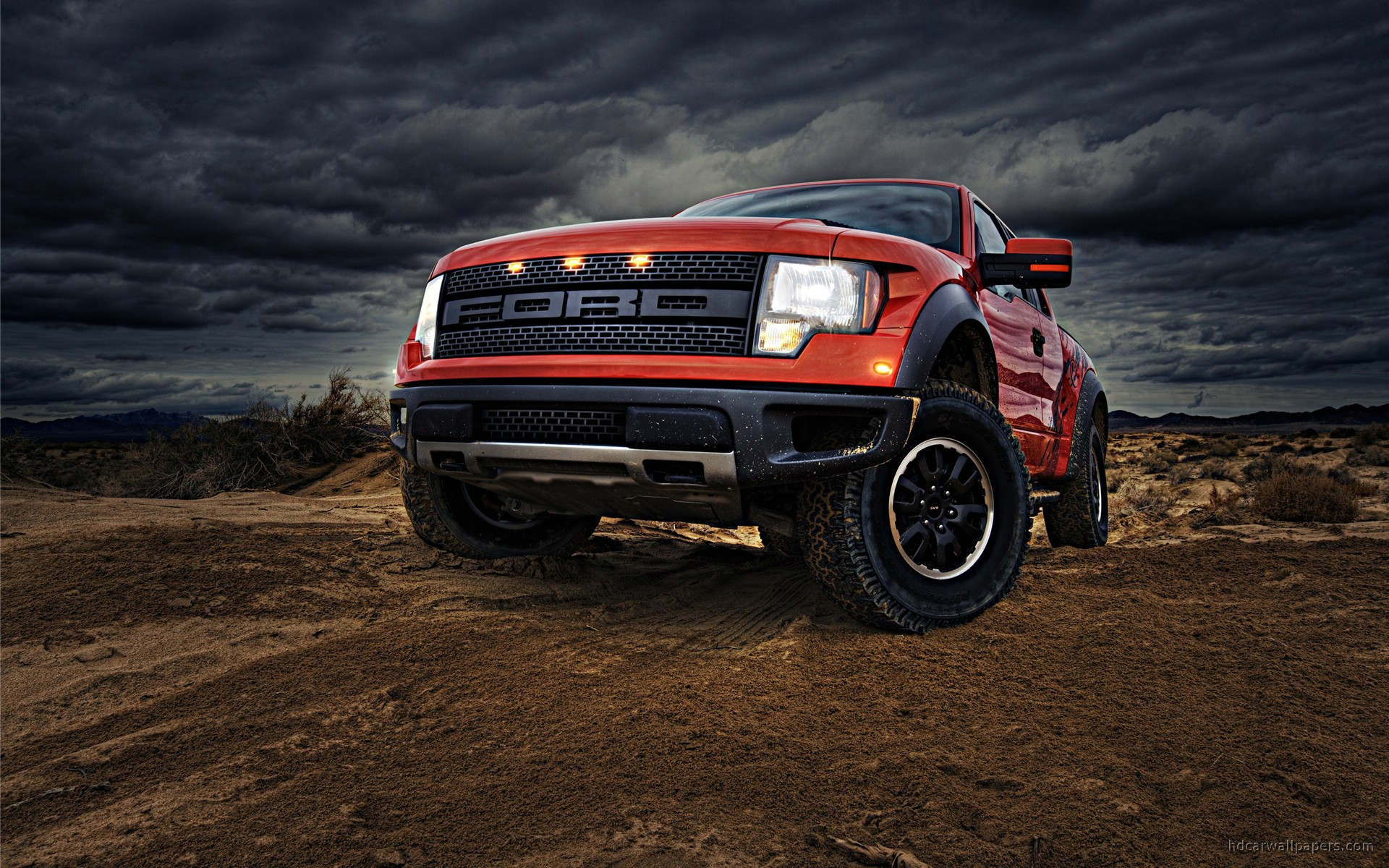 2010 Ford F150 SVT Raptor Wallpaper HD Car Wallpapers 1920x1200