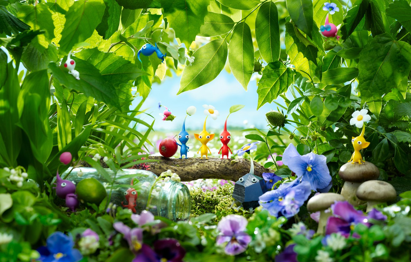 Wallpaper Game Wii U Pikmin 3 Thevideogamegallerycom images 1332x850