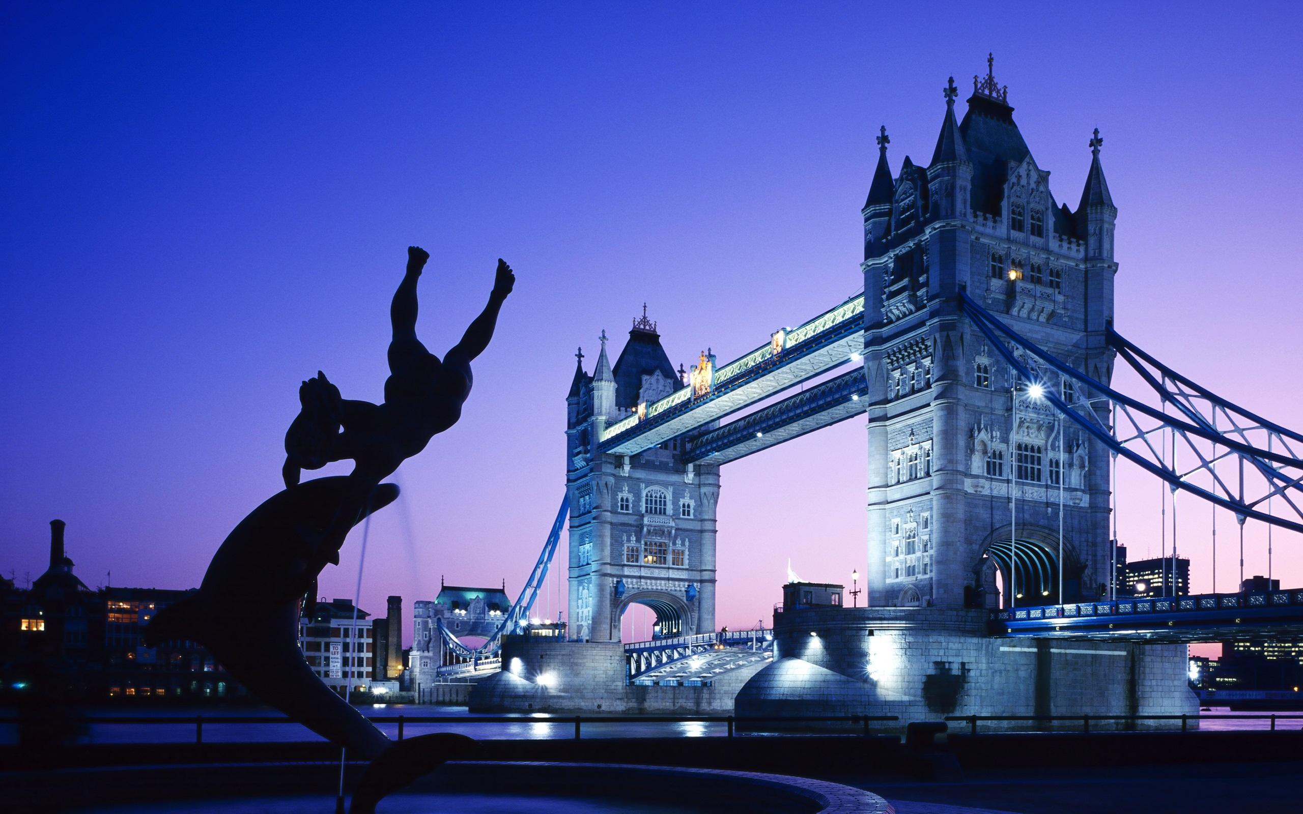 London Tower Bridge UK Wallpapers HD Wallpapers 2560x1600