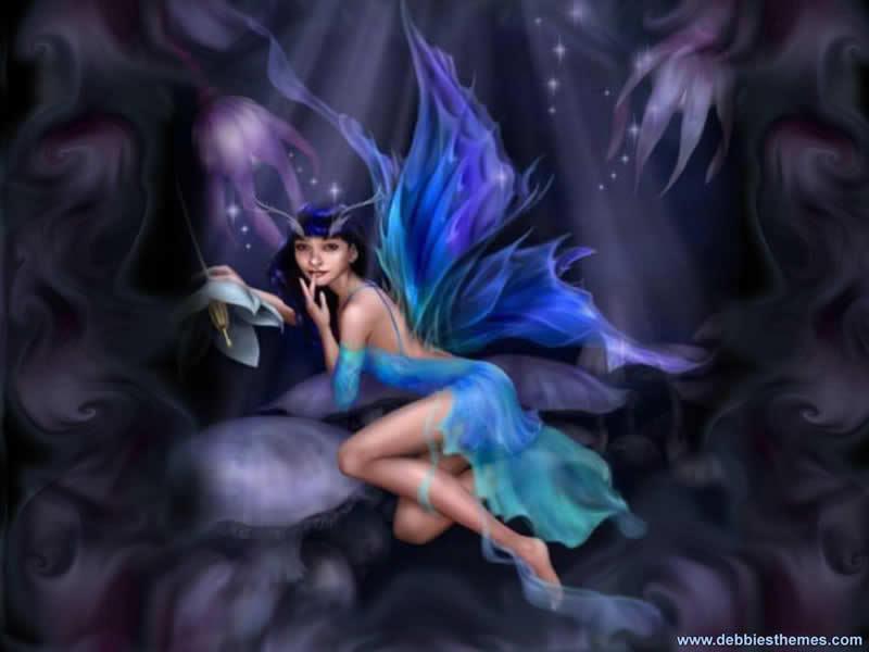 Sugar Plum Fairy Wallpaper Background Theme Desktop 800x600