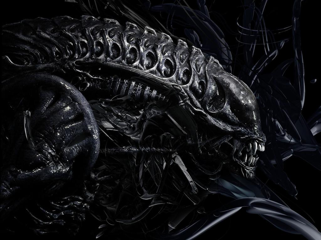 Alien Predator 3D Photography HD Wallpaper 1024x768