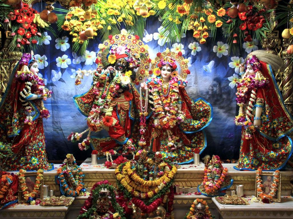 God Krishna HD Wallpaper