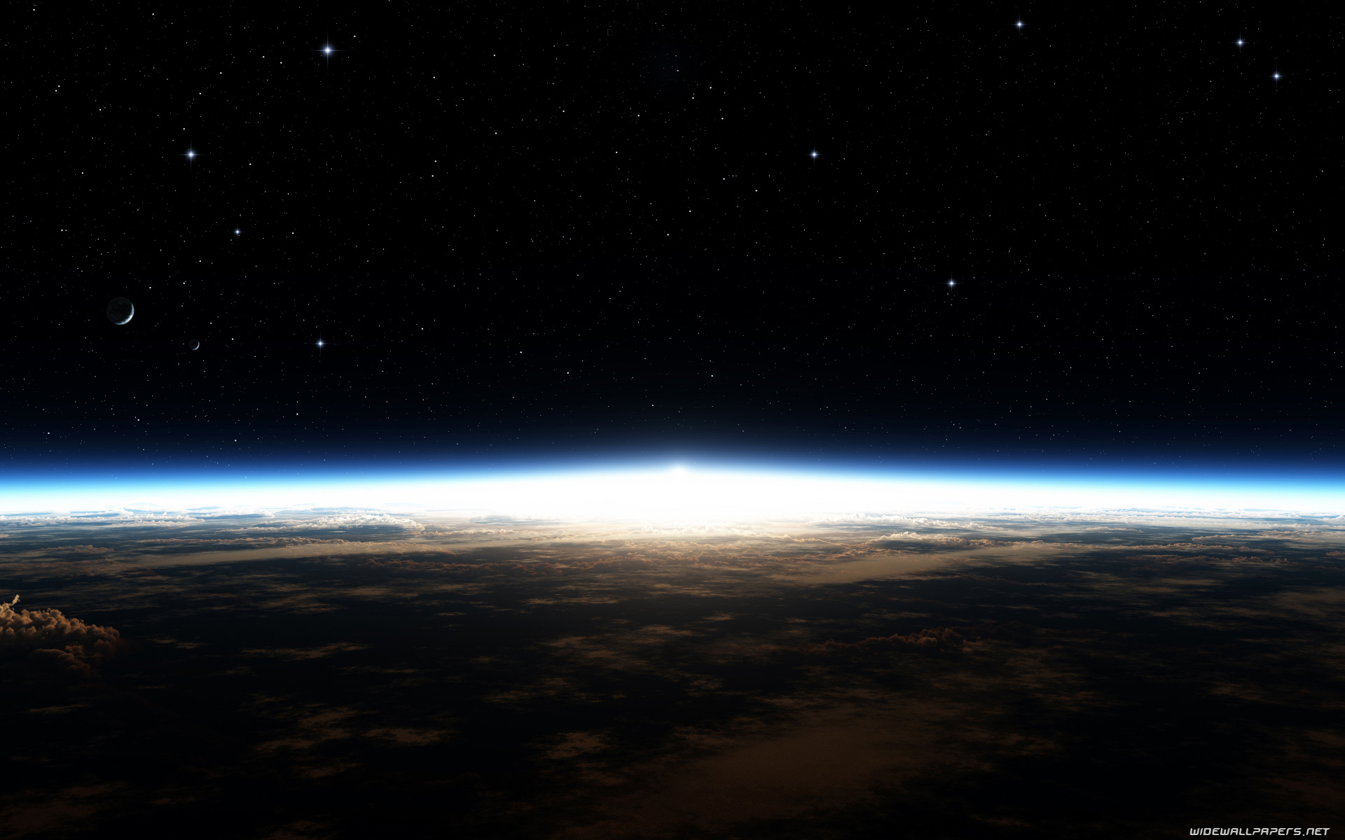 Earth from space desktop wallpapers 1920x1200