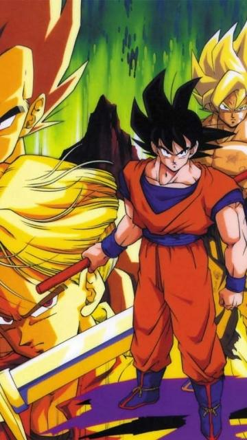 Dragon Ball Mobile Phone Wallpapers 360x640 Mobile Phone Hd Wallpaper 360x640