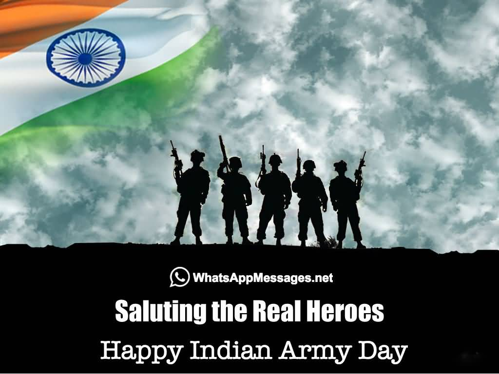 15 Best Indian Army Day Wish Pictures And Images 1024x768