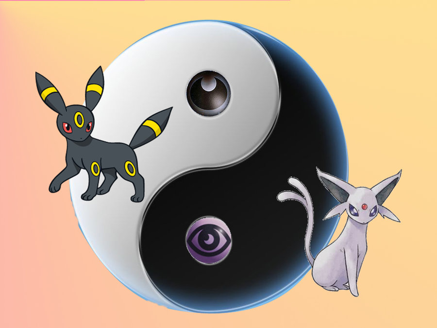 Umbreon And Espeon Wallpaper Umbreon and espeon yin yang 900x675