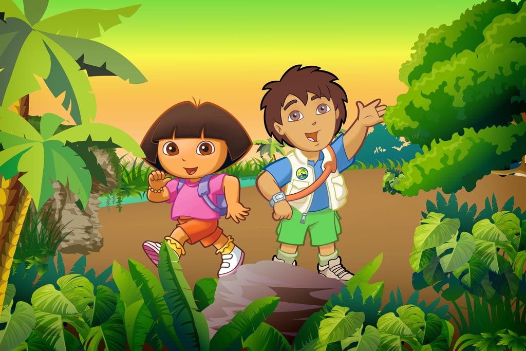 Dora and Diego wallpapers see a picture 1024x683