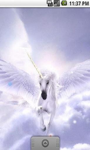 Free download Download Unicorn Pegasus Live Wallpaper for