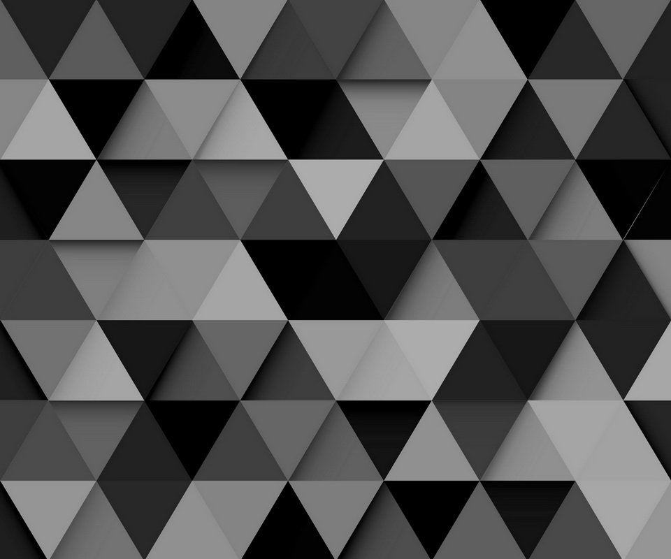 Black and Grey Triangles Galaxy S2 Wallpaper 960x800 960x800