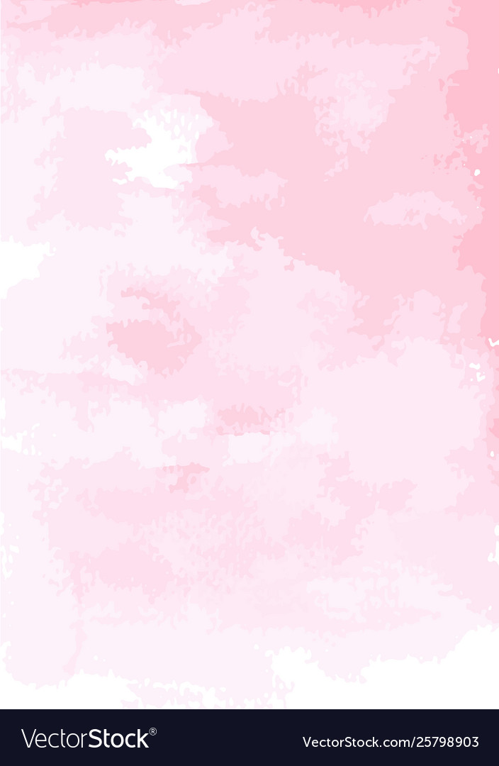 Paper pink watercolor wallpaper Royalty Vector Image 704x1080