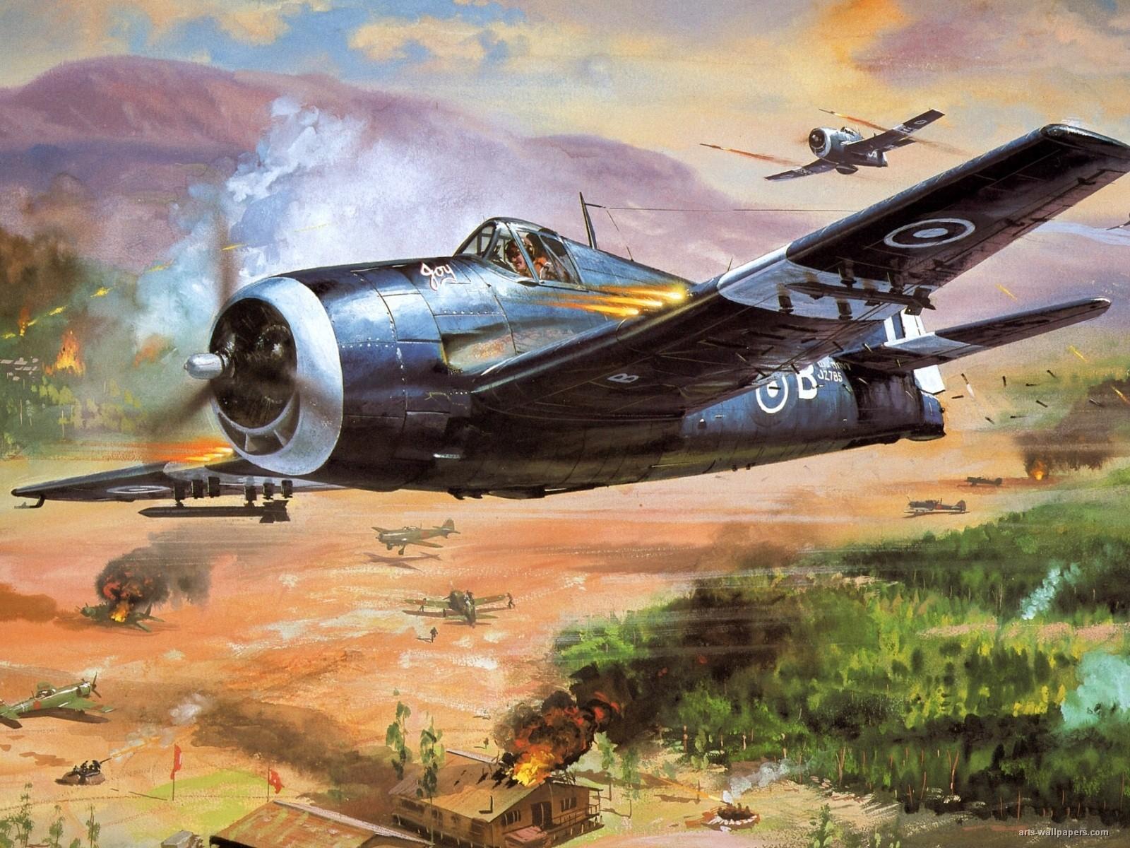 Wwii Aircraft Wallpapers Wallpapersafari