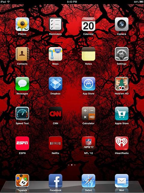 Show us your iPad Mini Lock and Home screen   iPhone iPad iPod 480x640