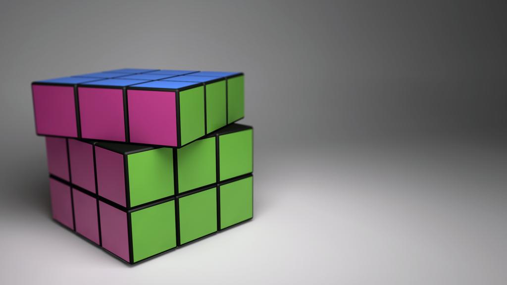 Rubix Cube by tokfrans on deviantART 1024x576