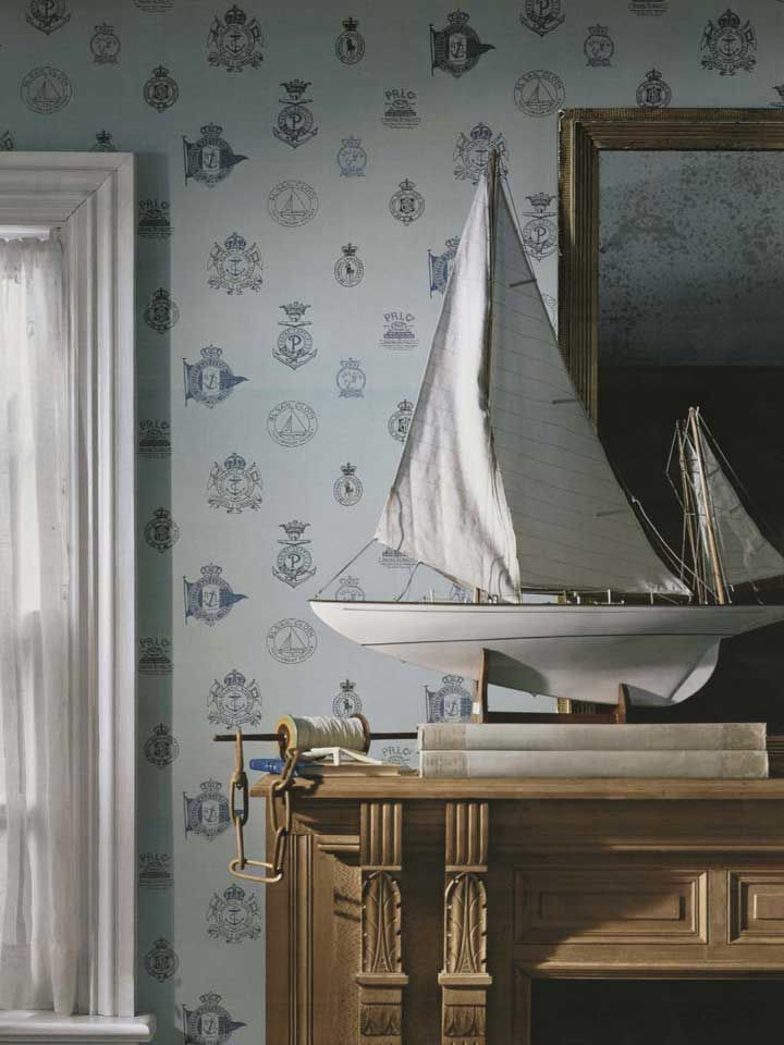 50 Ralph Lauren Nautical Wallpaper Wallcovering On