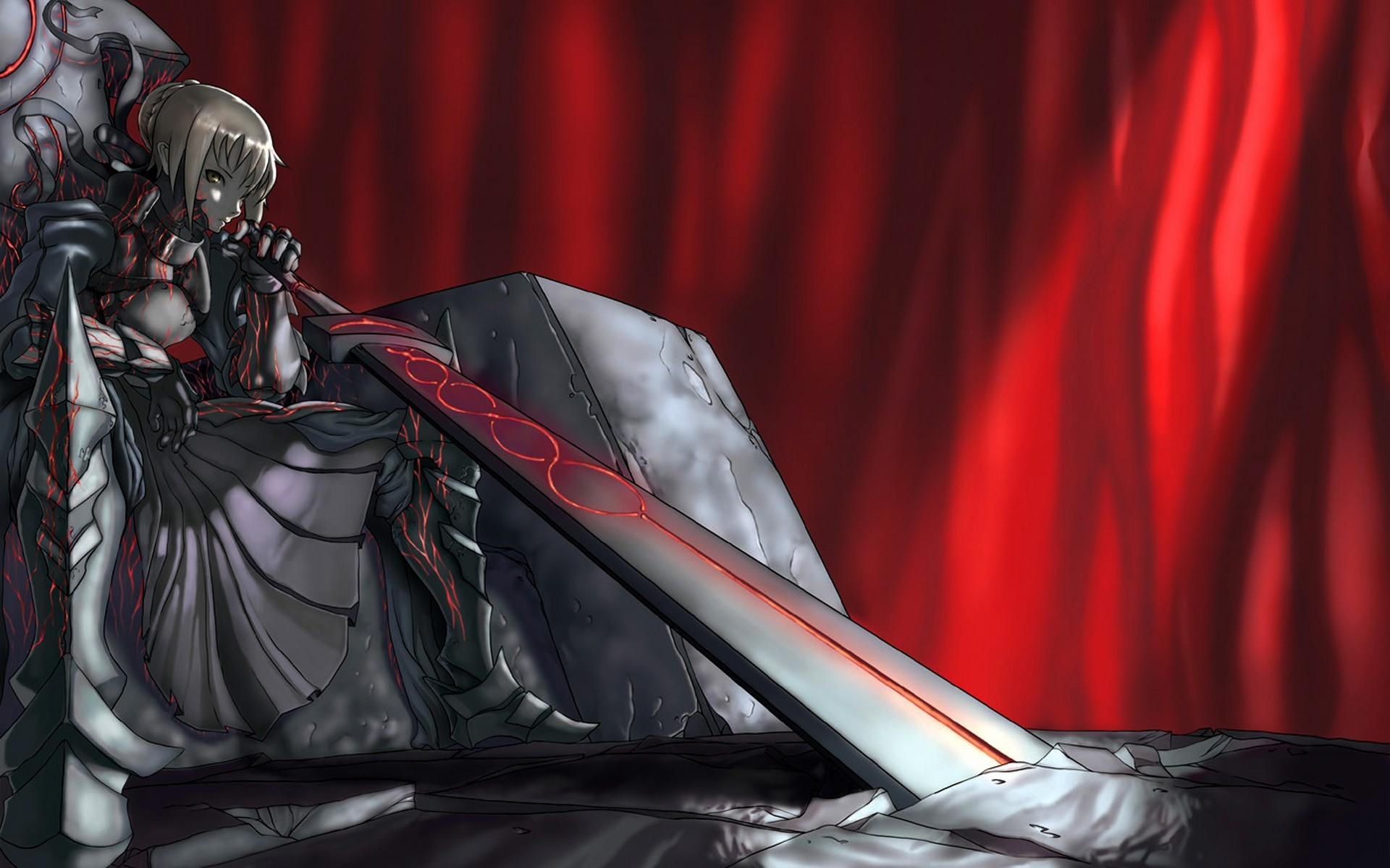 Saber   Fate stay night wallpaper 4659 1920x1200