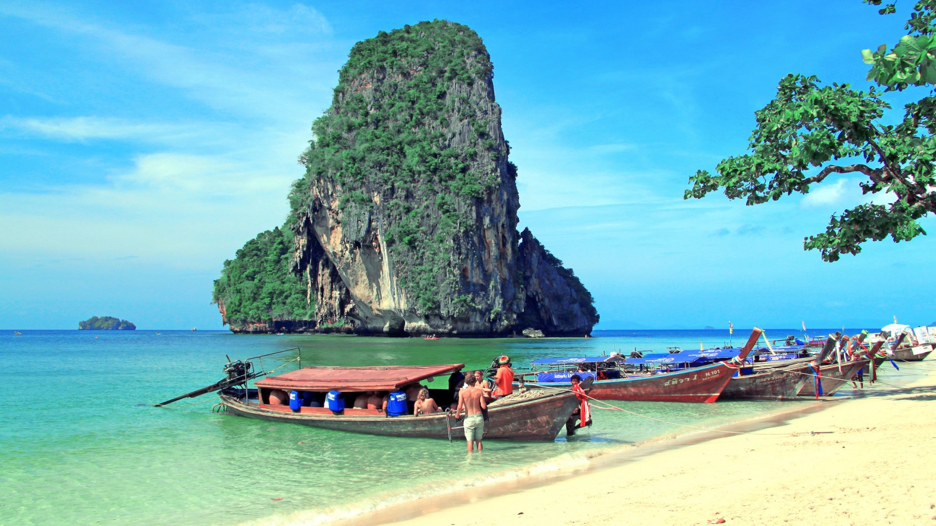 Thailand Island Beautiful Beach Fabulous Image Hd 1920x1080
