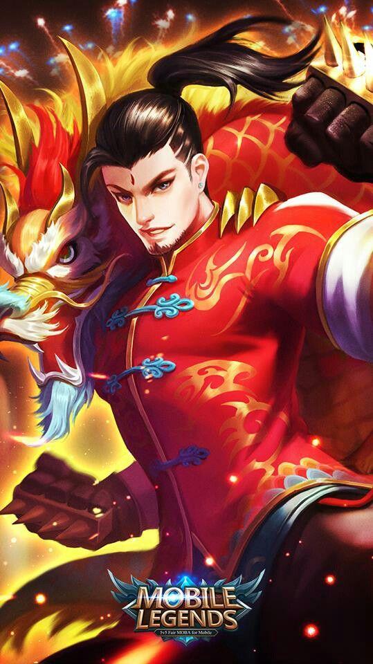 Chou dragon skin mobile legends Mobile Legends Mobile legends 539x960