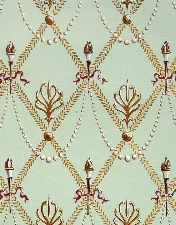 scalamandre zebra wallpaper green