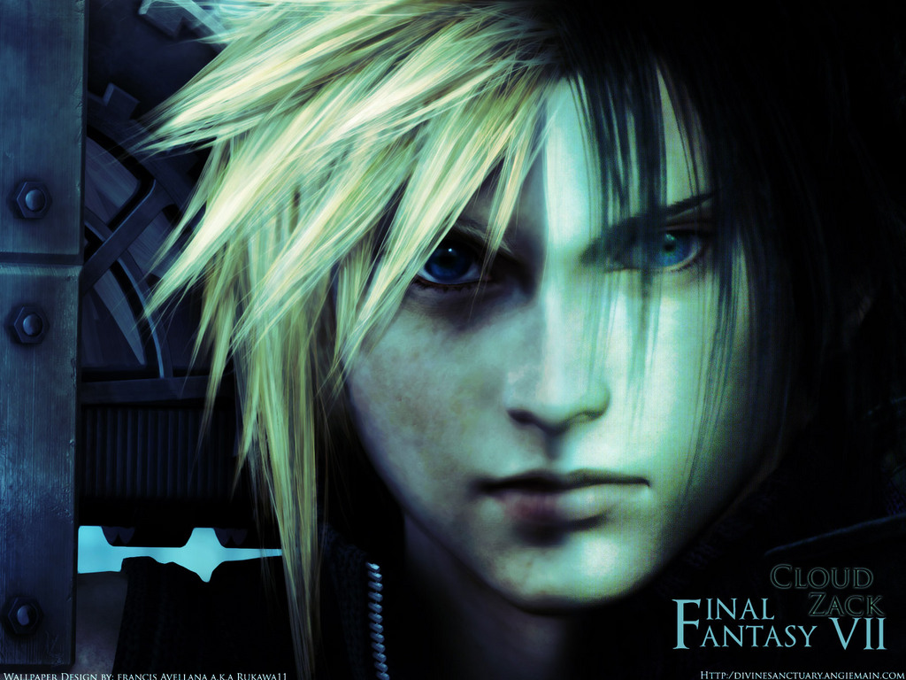 89 final fantasy vii advent children hd wallpapers backgrounds - Download Free Final Fantasy Advent Ren Zack Cloud Wallpaper 1024x768