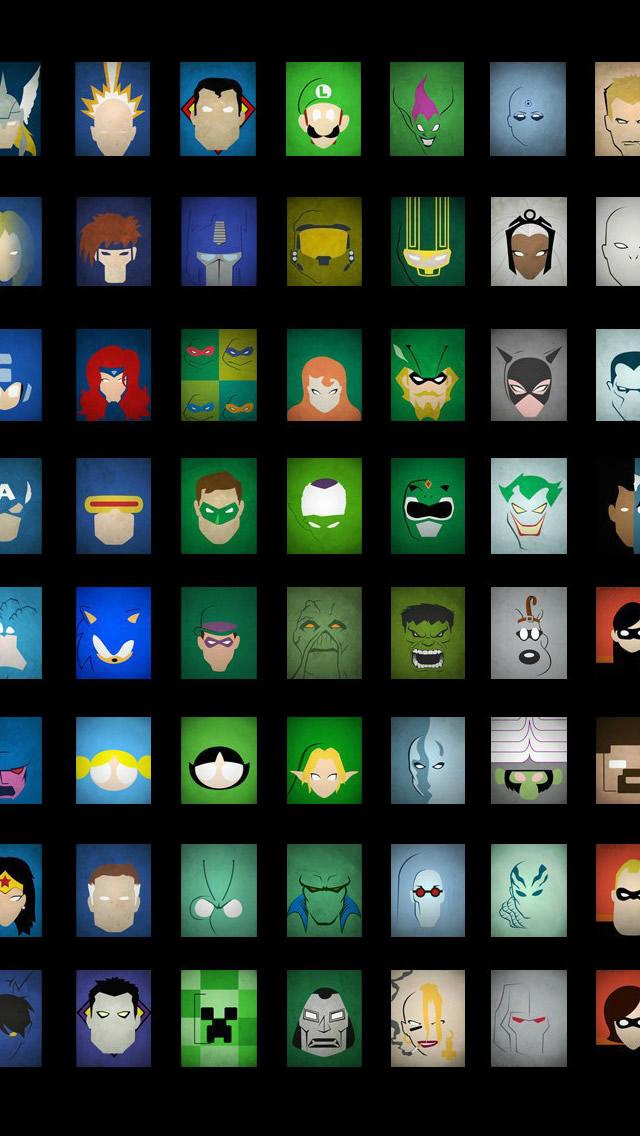 Go Back Gallery For Superhero Iphone Wallpaper 640x1136
