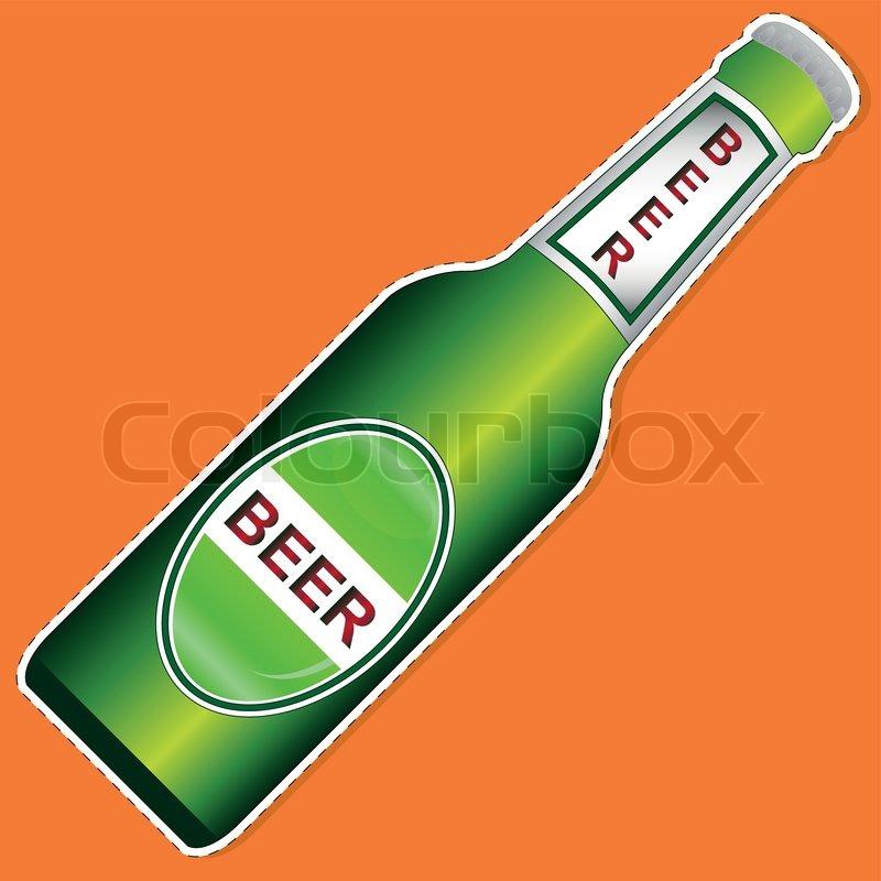Beer Bottle Vector Beer Bottle Vector 800x800