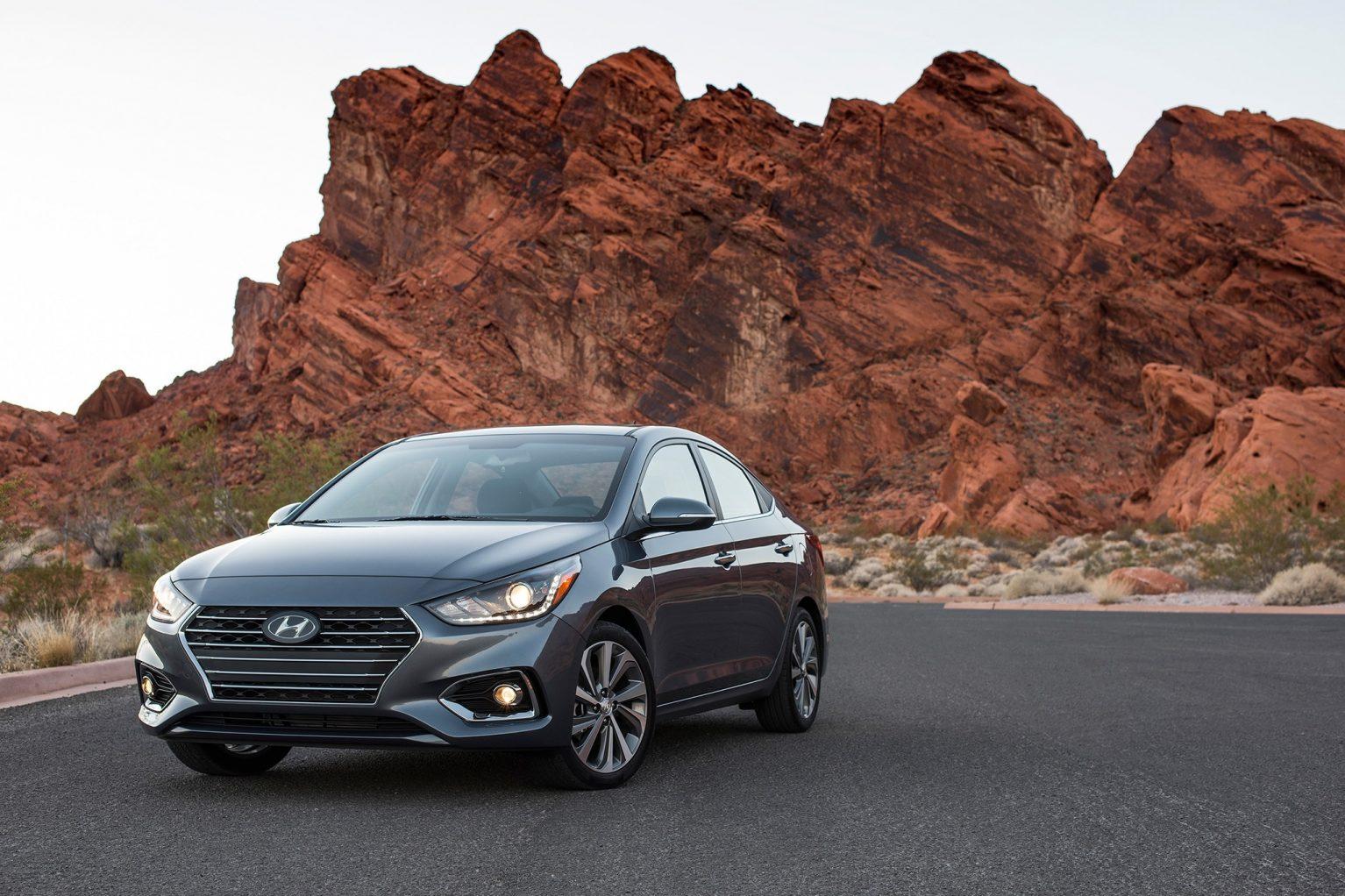2019 Hyundai Accent New Design Wallpapers Autoweikcom 1534x1022