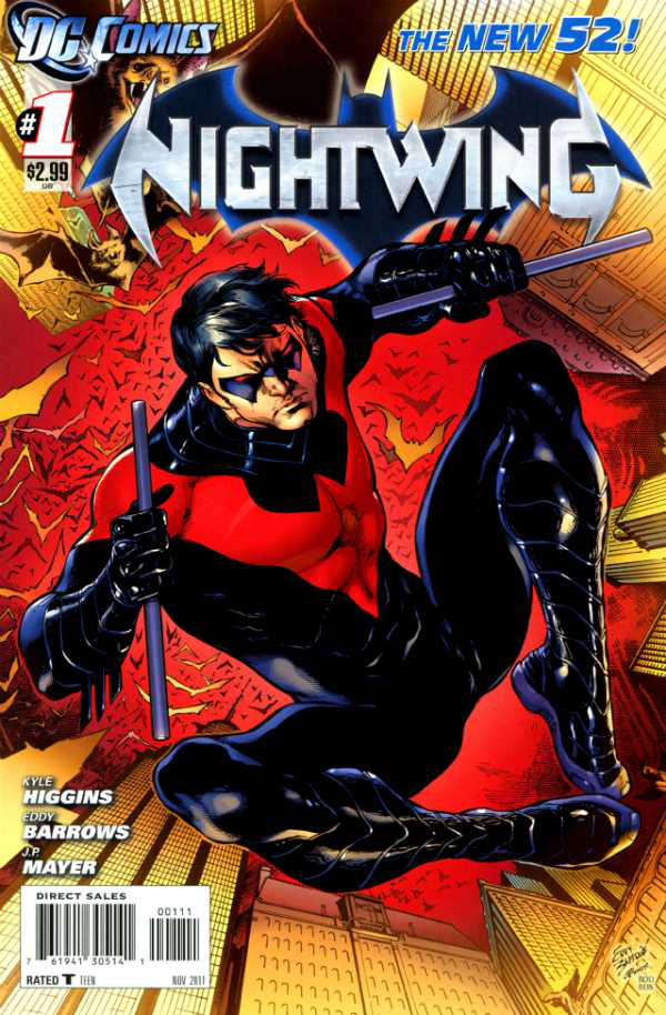 Nightwing New 52 Wallpaper New 52 Nightwing Comic 600x914