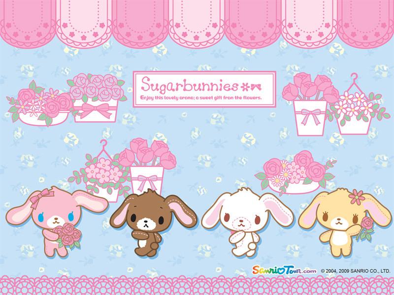 Sugarbunny   Sugarbunnies Wallpaper 7563629 800x600