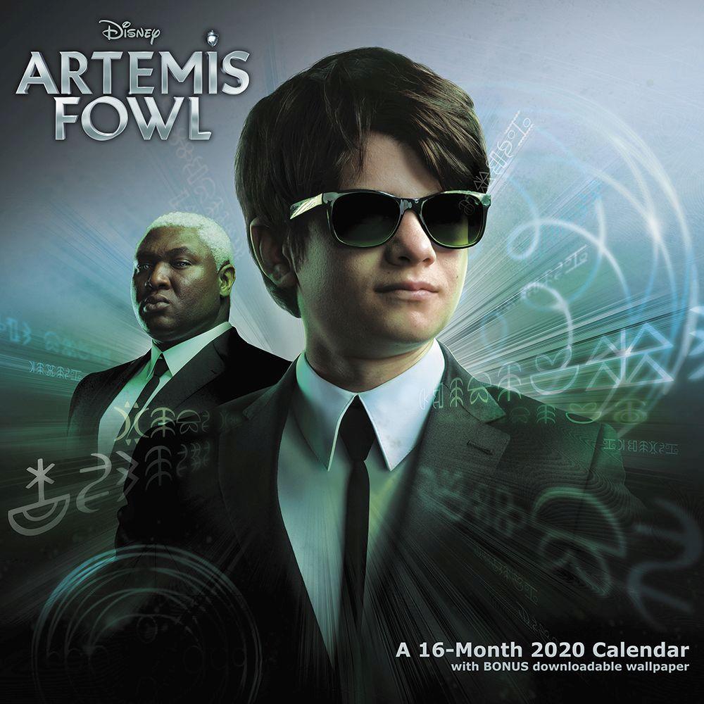 CalendarsDotCom ACCO Brands 2020 Artemis Fowl Wall Calendar 1000x1000
