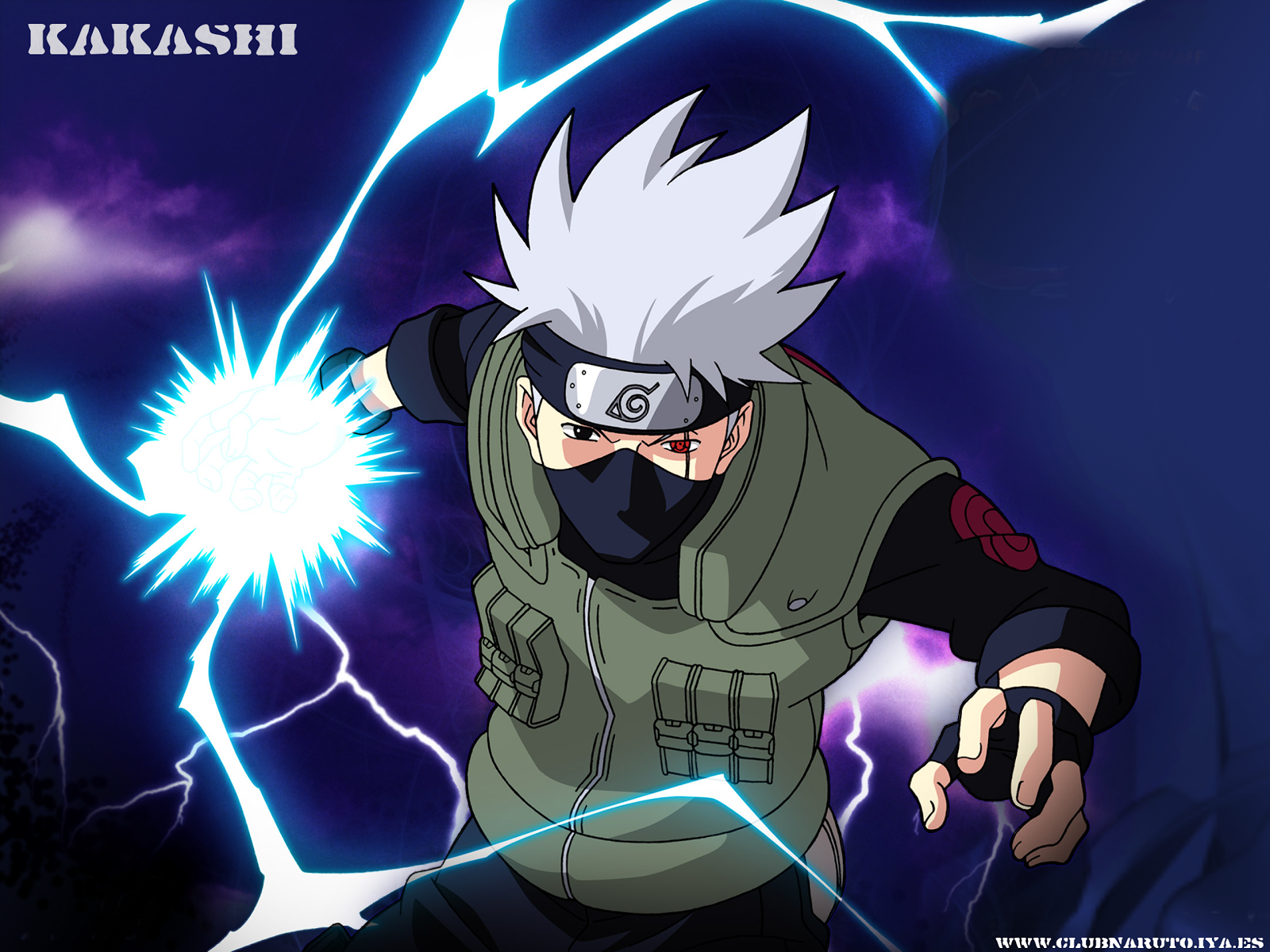 wallpapers de kakashi hatake dragonxoft wallpapers de kakashi hatake 1600x1200