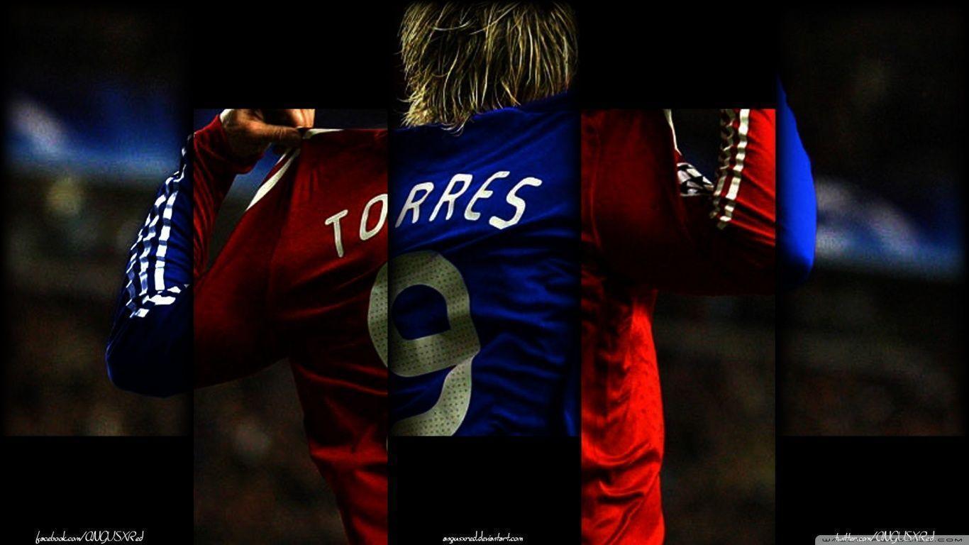 Torres Chelsea 2016 Wallpapers 1366x768