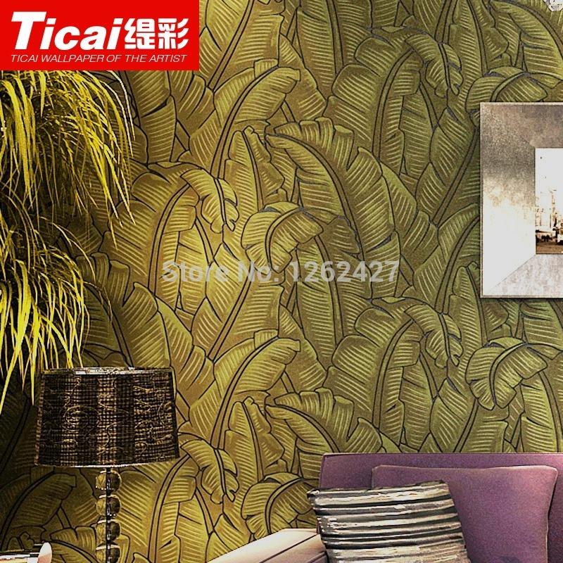 minimalist bedroom 3D wallpaper embossed woven banana leaf wallpaper 800x800