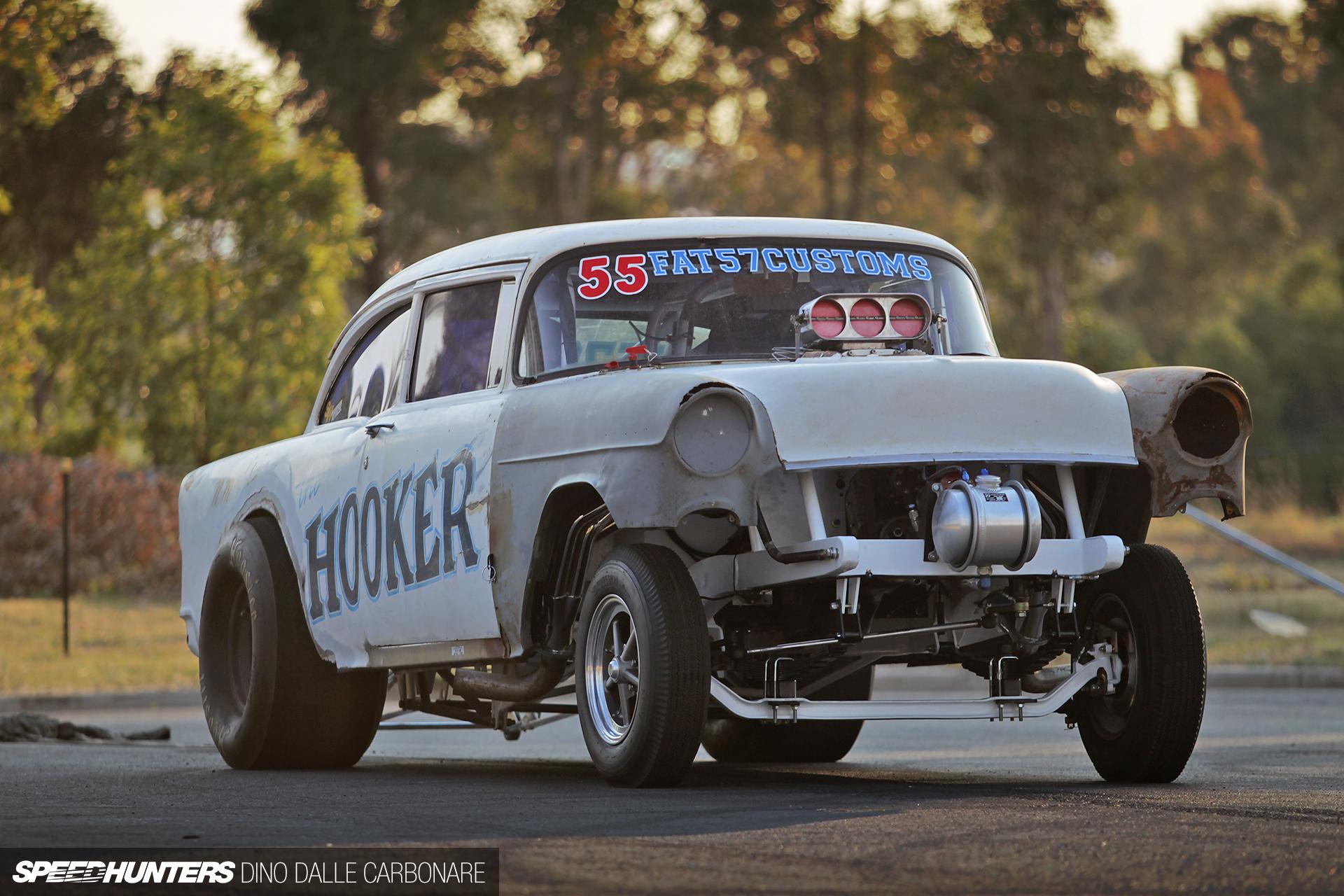 Chevrolet Gasser drag racing race hot rod rods retro t wallpaper 1920x1280
