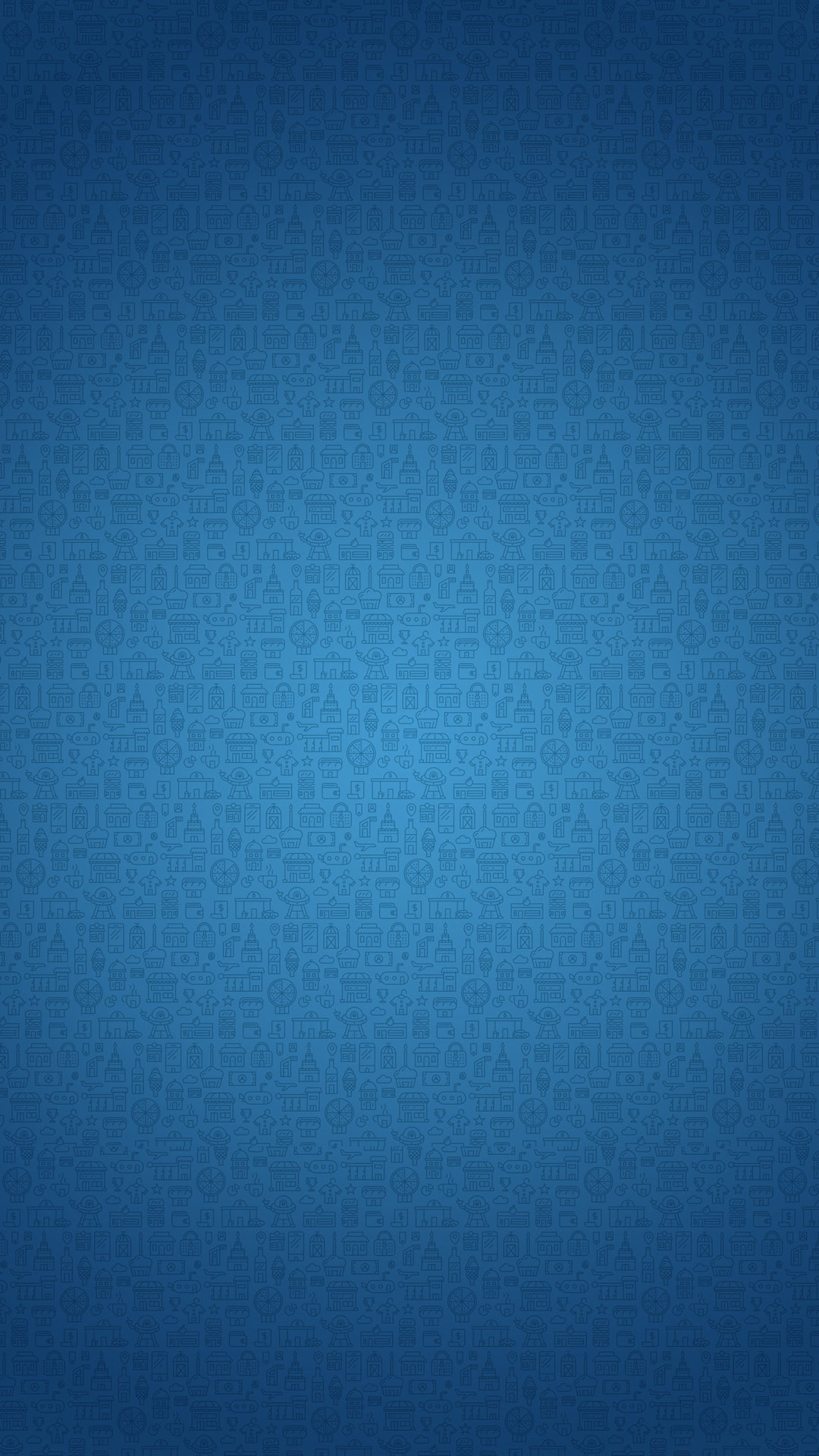 fashionable pattern blue iPhone Wallpaper 1080x1920