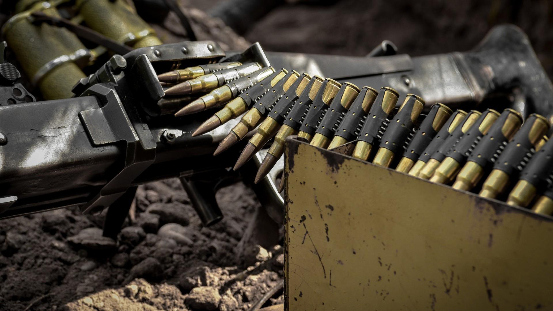 ammunition gun machine gun hd wallpapers desktop