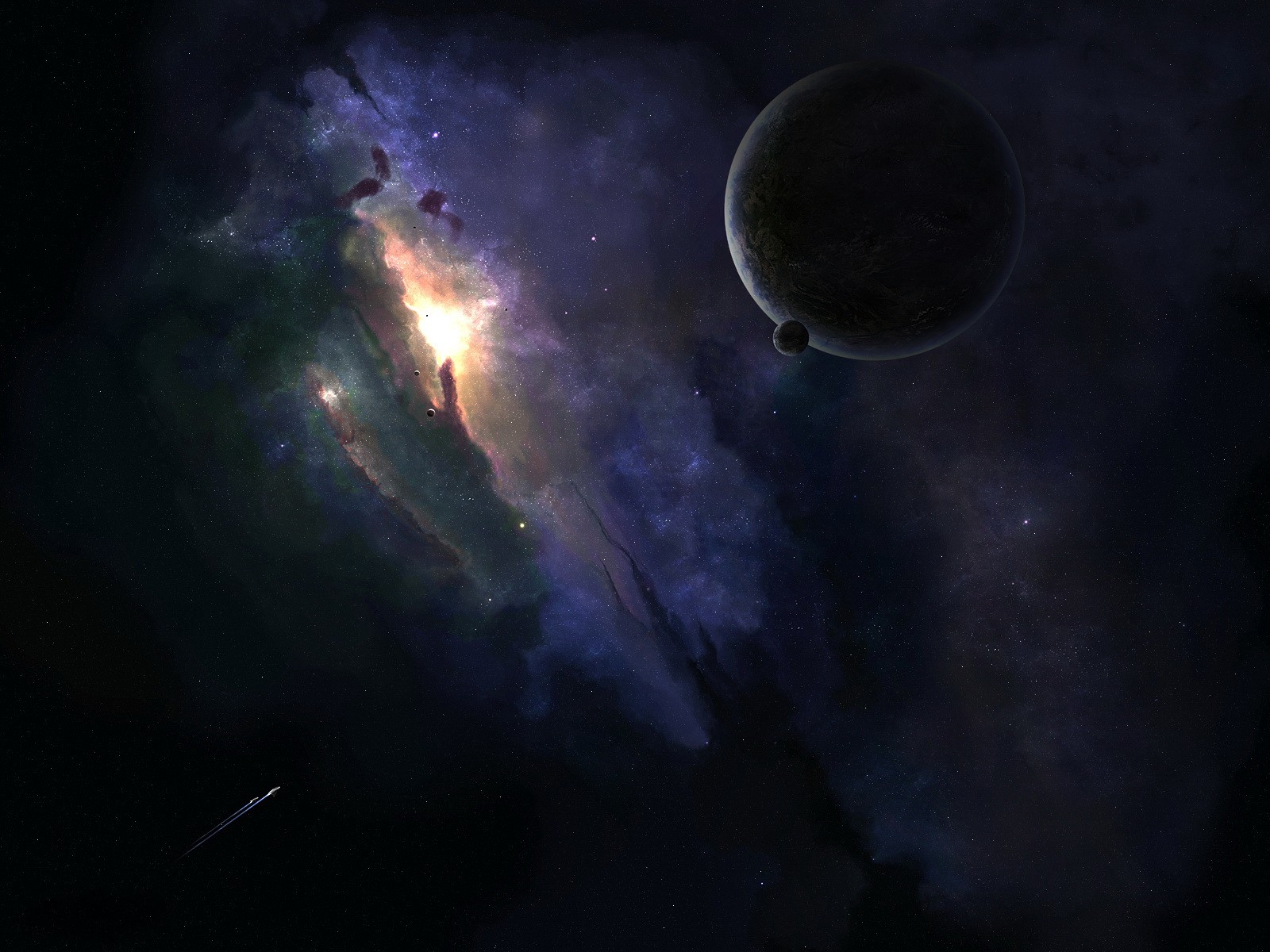 dark space wallpaper 1600 x 1200 pixels download hd dark space 1600x1200