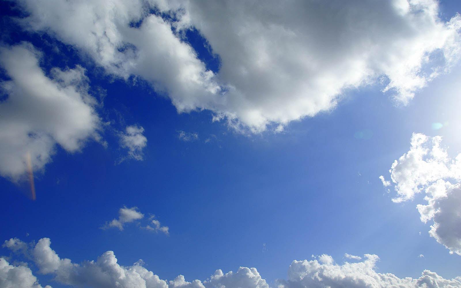 [48+] Blue Sky Background Wallpaper on WallpaperSafari