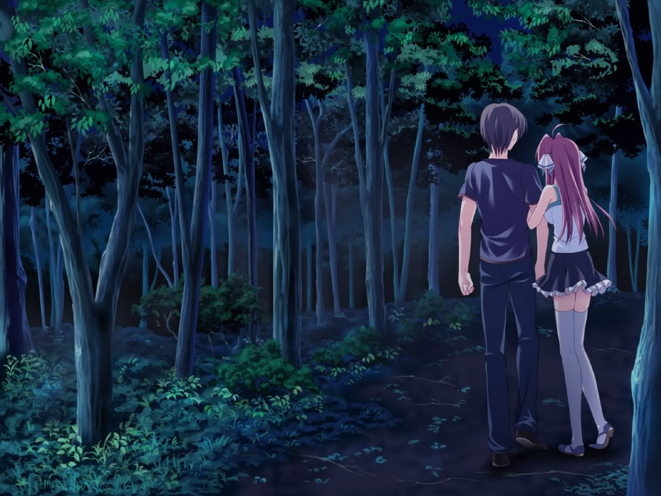 Anime Sweet Couple Wallpaper 1333x1000 Download wallpapers page 1333x1000