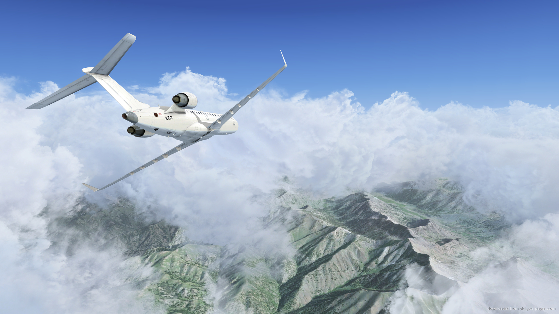 Download 1920x1080 Flight Simulator X Wallpaper 1920x1080