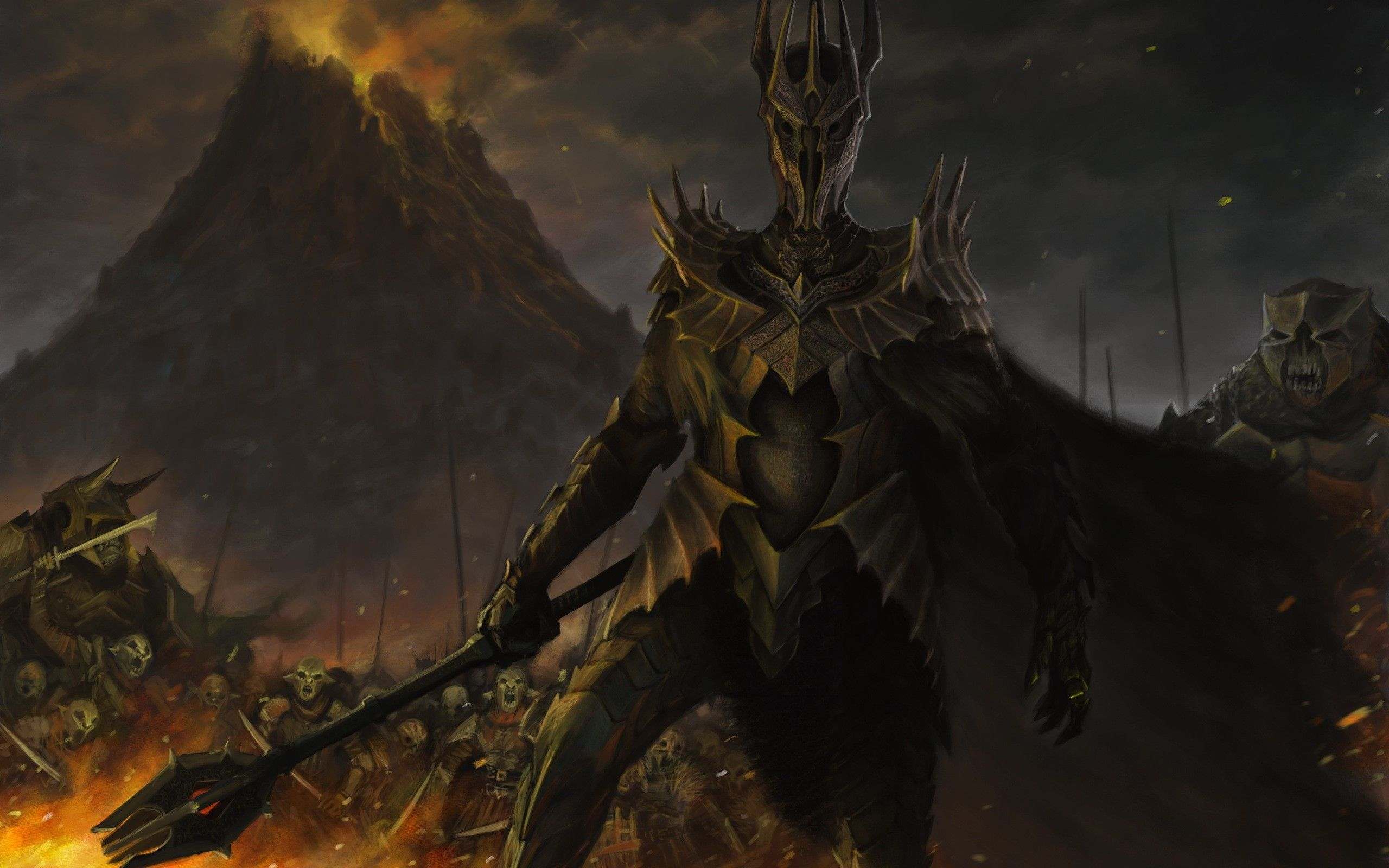 Sauron   The Lord of the Rings wallpaper 16532 2560x1600