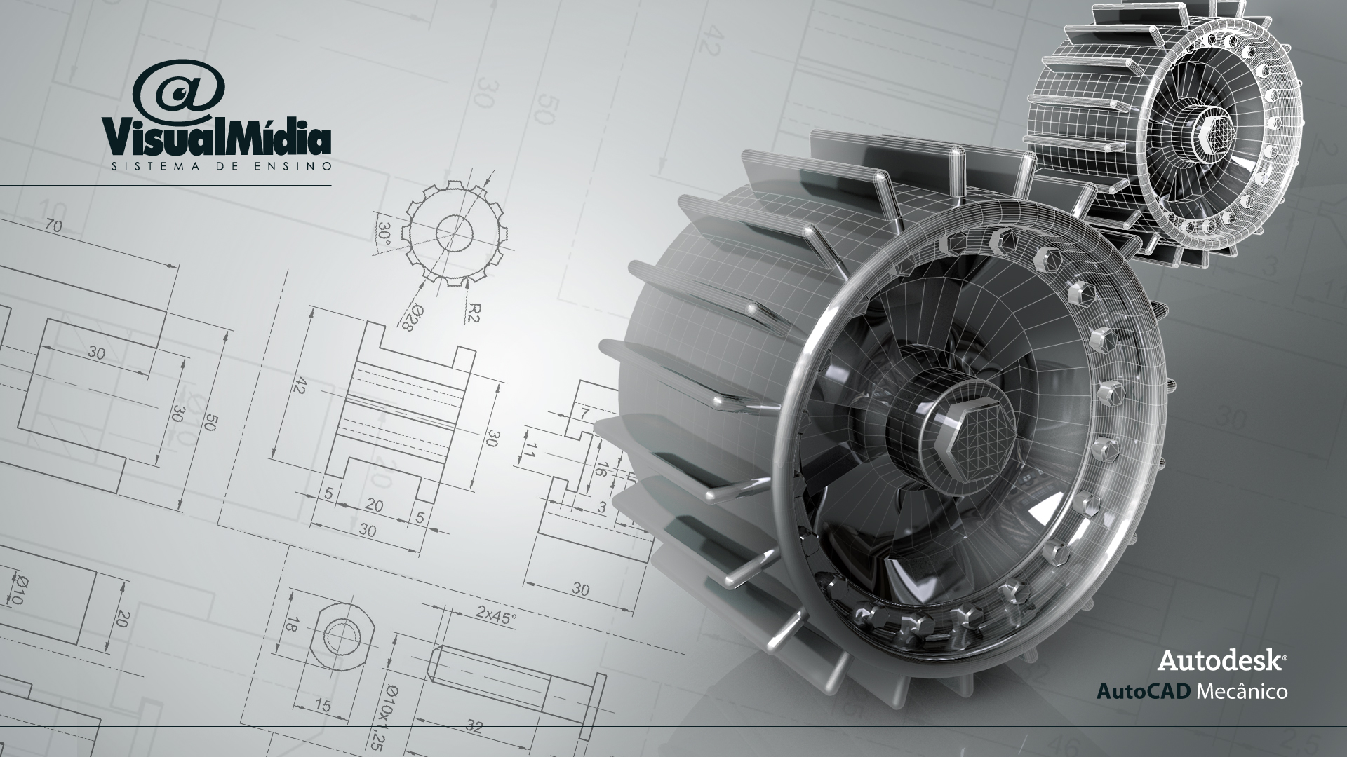 Autocad Wallpapers Technical Drawing Wallpapers For Download 1920x1080