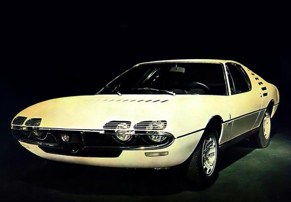 Alfa Romeo Montreal Expo Prototipo 105 1967 wallpapers 575x400