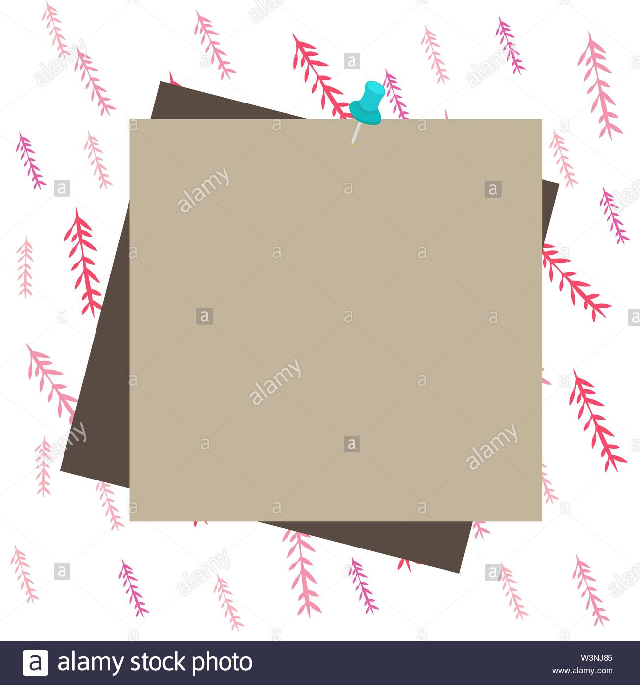 Reminder color background thumbtack tack memo attached office pin 1300x1390