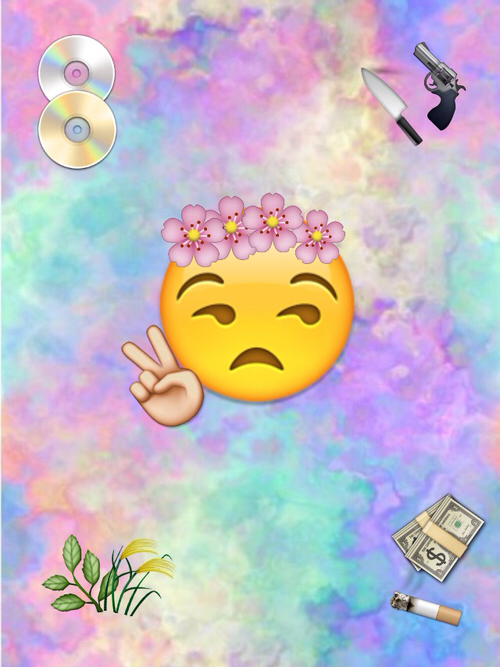 emoji wallpapers Tumblr 500x667